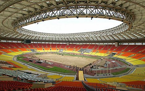 Image result for Moscow's Luzhniki Stadium